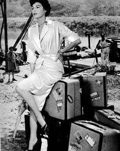 Ava Gardner in Mogambo (1953)