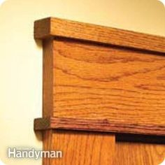 If you need a simple way to redesign your door frame, this tutorial will help!