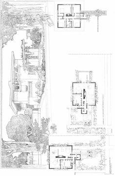 Frank Lloyd Wright; Ward Willits House. near Chicago, 1902