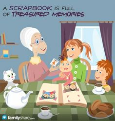 Throughout the years, I have found a way to form a unique bond with my grandchildren: When they turn 12, I present them with a scrapbook. It is not on...