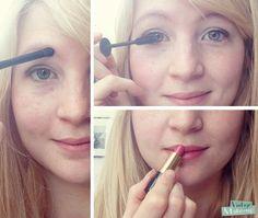 Comment se maquiller vite ? 2 minutes, 4 produits de maquillage... Défi relevé !