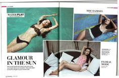 The Park New Delhi sizzled this summer during Fusion Life Magazine's glamorous photoshoot at Aqua.