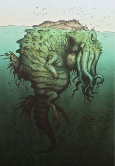 modern monsters sightings | KrakenThis legendary giant sea monster is said to inhabit the coastal ...