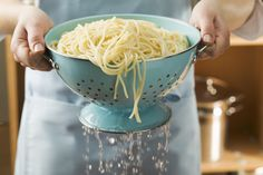 Why You Should Never, Ever Drain Your Pasta In The Sink | HuffPost
