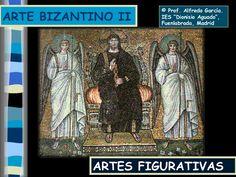 Segunda parte del artebizantino. Artes figurativas: marfiles, mosaicos, frescos y miniados. Capítulo especial sobre los mosaicos bizantinos italianos en San Ma…
