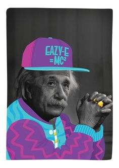 Einstein by Mason London.      Digital print on 165 gsm paper with a Matte finish.  A1, 841 x 594 mm