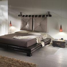 Small Room Bedroom, Bedroom Bed, Dream Bedroom, Master Bedroom, Bedroom Decor, Pillow Headboard, Industrial Dining Chairs, Tv Wall Design, Diy Bed