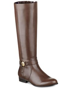 Tommy Hilfiger Terese Tall Riding Boots - Shoes - Macy's