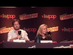 NYCC 2013 XF-Panel with Gillian Anderson & David Duchovny - YouTube
