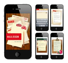 Beautiful digital stationery by Cartolina -- send pretty notes via text and email!