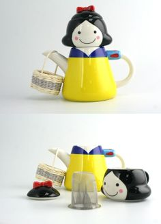 Snow White Tea cup