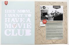 Hey Mom | Lots of love for the Silhouette and for this story about Simon inviting friends over for a movie club.