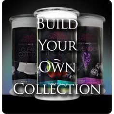 """Build your own Candle Collection!! $68!!! SAVE WHEN YOU BUY 3 ANY OF YOUR CHOICE!! 100% SOY ALL NATURAL CANDLES WITH """"BONUS"""" JEWELRY INSIDE EVERY PRODUCT, ALL UNDER $25! www.jewelryincandles.com/store/andrealynn"""