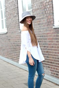 long sleeve off shoulder blouse | by Fabes Fashion - A Los Angeles based Life and Style Blog #offtheshoulder #offtheshoulderblouse #tibiofftheshoulder #topshop #topshopjamie #zara #zarahells #nordstrom #nordstromhat #fashionblogger #spring #springlook #springfashion #ootd