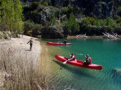 Masqueaventura ,lago de bolarque,kayak.