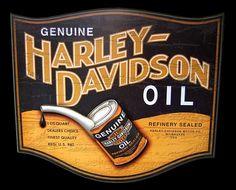 Vintage Harley ad