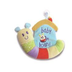 Little Bird Told Me Softly Snail Baby On Board Kiddicare.com