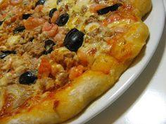 As Minhas Receitas: Pão Caseiro para todos os dias! Vegetable Pizza, Macaroni And Cheese, Oatmeal, Food And Drink, Pasta, Bread, Vegetables, Breakfast, Ethnic Recipes