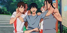 Me Me Me Anime, Anime Guys, Anime Suggestions, Amaama To Inazuma, Sanrio Danshi, Volleyball Anime, Manga Games, Manga Drawing, Aesthetic Anime