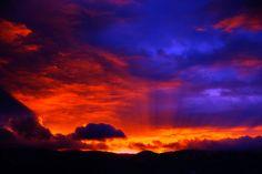 Sunrise, Sandia Mountains, New Mexico