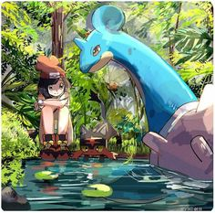 Safebooru is a anime and manga picture search engine, images are being updated hourly. Pokemon Moon, Pokemon Fan Art, Pokemon Agua, Lapras Pokemon, All Pokemon, Pokemon Cards, Plant Pokemon, Pokemon Fairy, Pokemon Tattoo