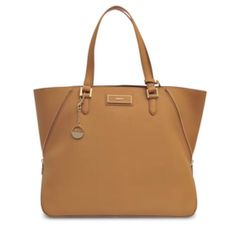 brown leather bag dkny style fashion