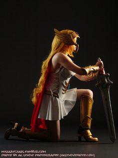 She-Ra by Katcakes, photo by AK Studio Photography.