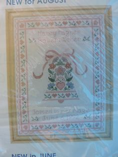 Wedding Bell Counted Cross Stitch Creative Circle Design Needlepoint Kit Counted Cross Stitch Kit #0908 FREE MAILING To Canada and US