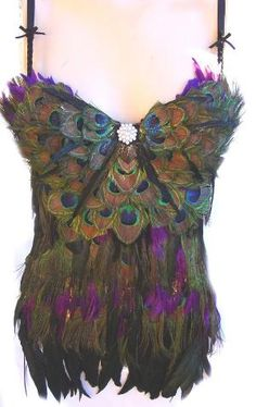 Peacock Goddess garb completely not practical at all... would match my wings tho LOL!!!!