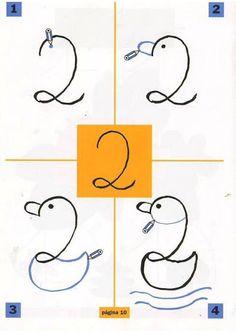 Libro Dibuja con las cifras - Todo Matemáticas - Àlbums web de Picasa