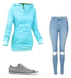 """""""Untitled #7"""" by antoni-huggins on Polyvore featuring Converse and Topshop"""