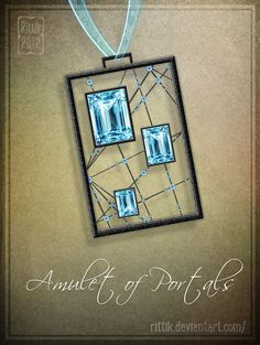 Amulet+of+Portals+by+Rittik.deviantart.com+on+@DeviantArt
