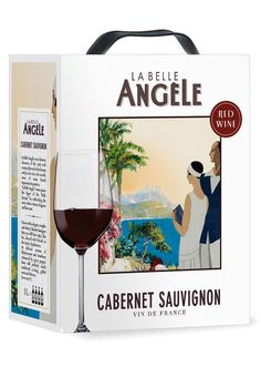 La Belle Angèle Cabernet Sauvignon 2013 hanapakkaus Cabernet Sauvignon, Red Wine, Alcoholic Drinks, Angeles, France, Wine, Liquor Drinks, Alcoholic Beverages, Angels