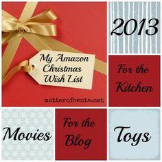 Top 10 Items On My Amazon #Christmas Wish List