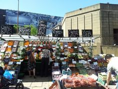 Edinburgh Market. Every Saturday at St Marys, top of Broughton Street, Edinburgh.