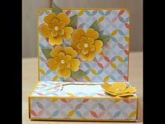 Handbag Tissue Box - JanB UK Stampin' Up! Demonstrator Independent