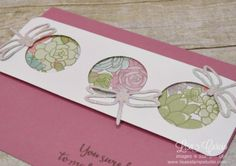 Dragonfly Dreams Triple Circle Template Card, Spotlight with Lisa, Lisa's Stamp Studio, www.lisasstampstudio.com
