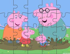 Peppa E George, George Pig, Quiet Time Activities, Montessori Activities, 2nd Birthday Parties, Baby Birthday, Peppa Pig Party Games, Peepa Pig, Peppa Pig Stickers