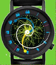 A watch based on the Higgs Boson. (We have people here who know about such things.)
