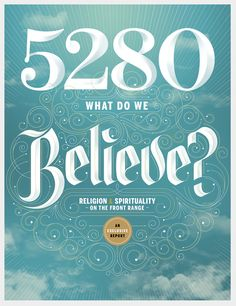 5280 Magazine by Jordan Metcalf, via Behance