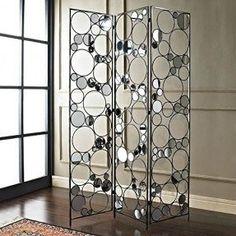 Powell Furniture Reflections Folding Screen
