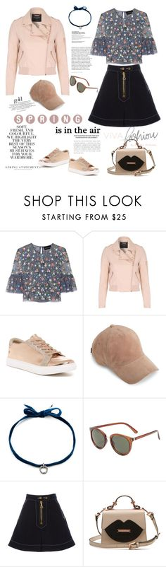 """""""Spring is in the Air"""" by ellie366 ❤ liked on Polyvore featuring Folio, Needle & Thread, Jane Norman, Kenneth Cole Reaction, rag & bone, DANNIJO, MANGO, Hermès, E L L E R Y and suede"""