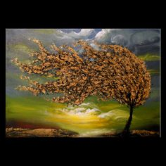 art painting abstract landscape painting surreal by mattsart, $375.00