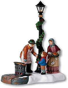 Shop a great selection of Department 56 Dickens' Village A Christmas Carol Chestnut Vendor Accessory Figurine. Find new offer and Similar products for Department 56 Dickens' Village A Christmas Carol Chestnut Vendor Accessory Figurine. Christmas Tree Village, Christmas Village Collections, Christmas Villages, Christmas Carol, Dept 56 Dickens Village, Wedding Lasso, Mother Of Bride Gifts, Hawaiian Tiki, Visit Santa