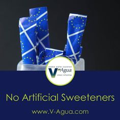 V-Agua has no artificial sweeteners.  #vodka #vodkawater #vodkacocktail #vodkadrink #vodkapouch #sweetener #artificialsweeteners
