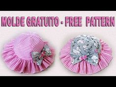 Ruffle hat - Free Pattern Newborn to 12 years Sewing To Sell, Sewing Blogs, Sewing For Kids, Baby Sewing, Hat Patterns To Sew, Kids Patterns, Doll Clothes Patterns, Sewing Patterns, Baby Sun Hat