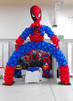 1000 images about decoraciones on pinterest balloon for Decoracion de globos para hombres