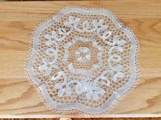 Antique Hand Made Crochet Doily by WidhalmsCollectibles on Etsy, SOLD