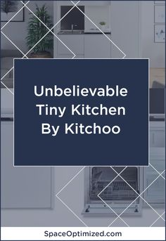 Kitchoo launches in the US to bless your tiny home with a modular kitchen that perfectly combines functionality and style! Space Saving Kitchen, Small Space Kitchen, Small Spaces, City Apartments, Small Apartments, Small Kitchen Inspiration, Tiny Kitchens, Small Apartment Design, Tiny House Movement