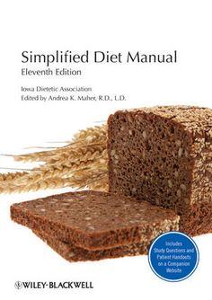 Iowa Academy of Dietetics and Nutrition (New Name for IDA) famous and internationally used #SimplifiedDietManual.  #UIDDA